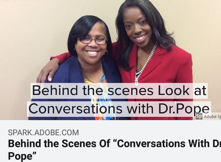 My Job as the Producer of Conversations with Dr. Pope