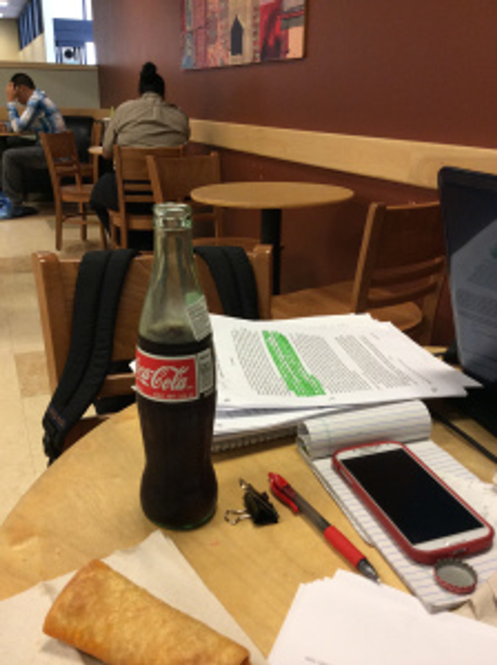 A Coca-Cola, Smartphone, Burrito, Pen, Note Pad and other Published Dissertations