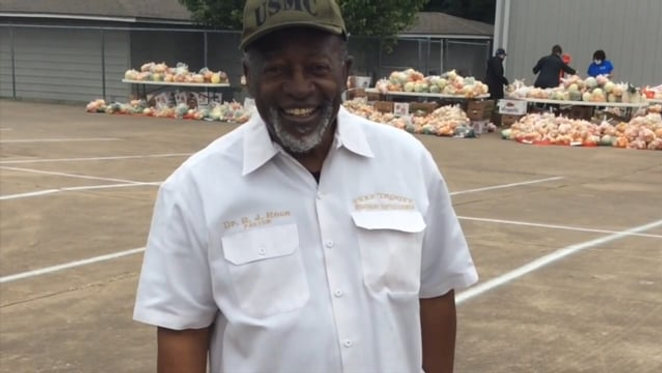 Dr. Pope serving as Community Leader