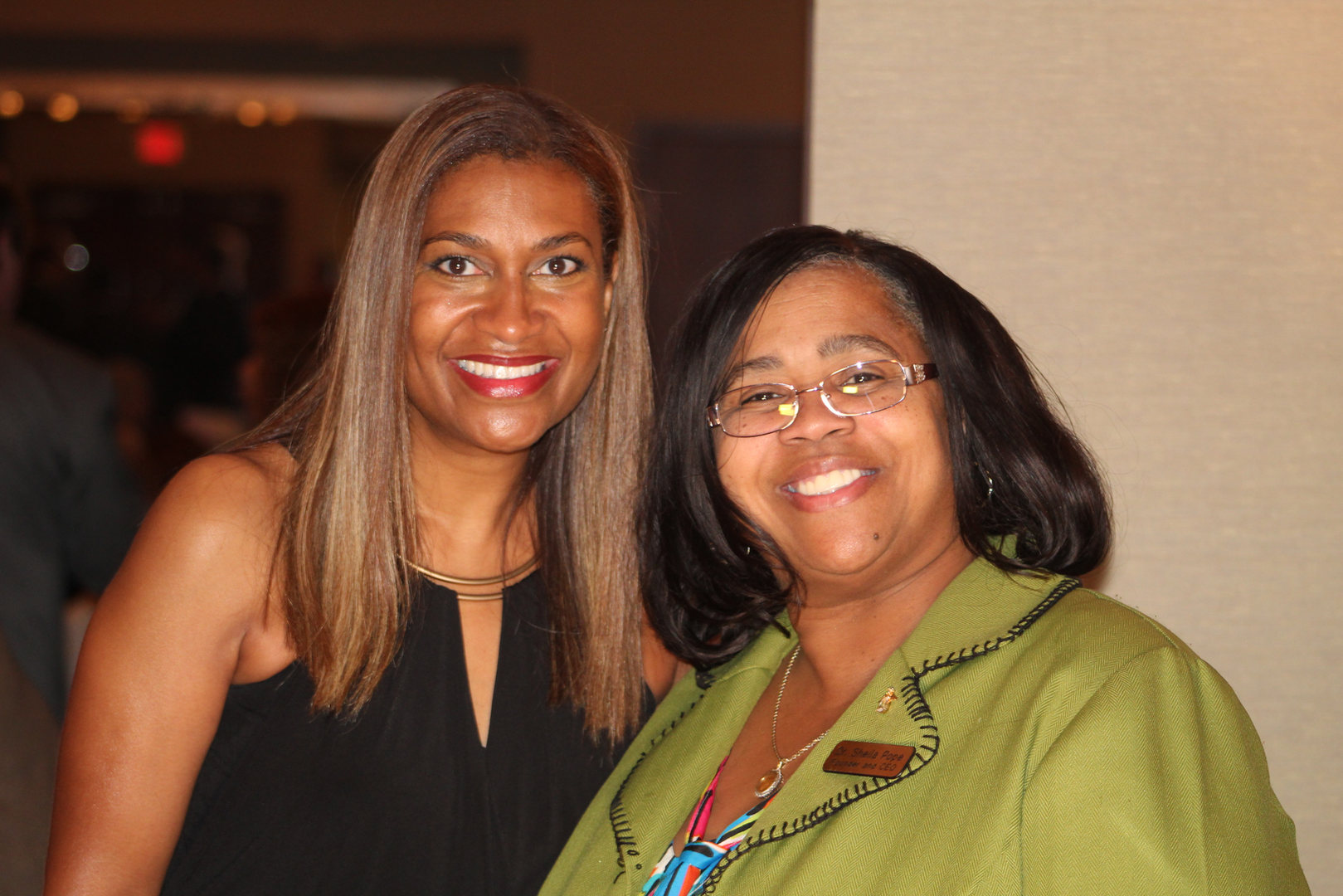 Dr. Pope with City Councilmember Dr. Let