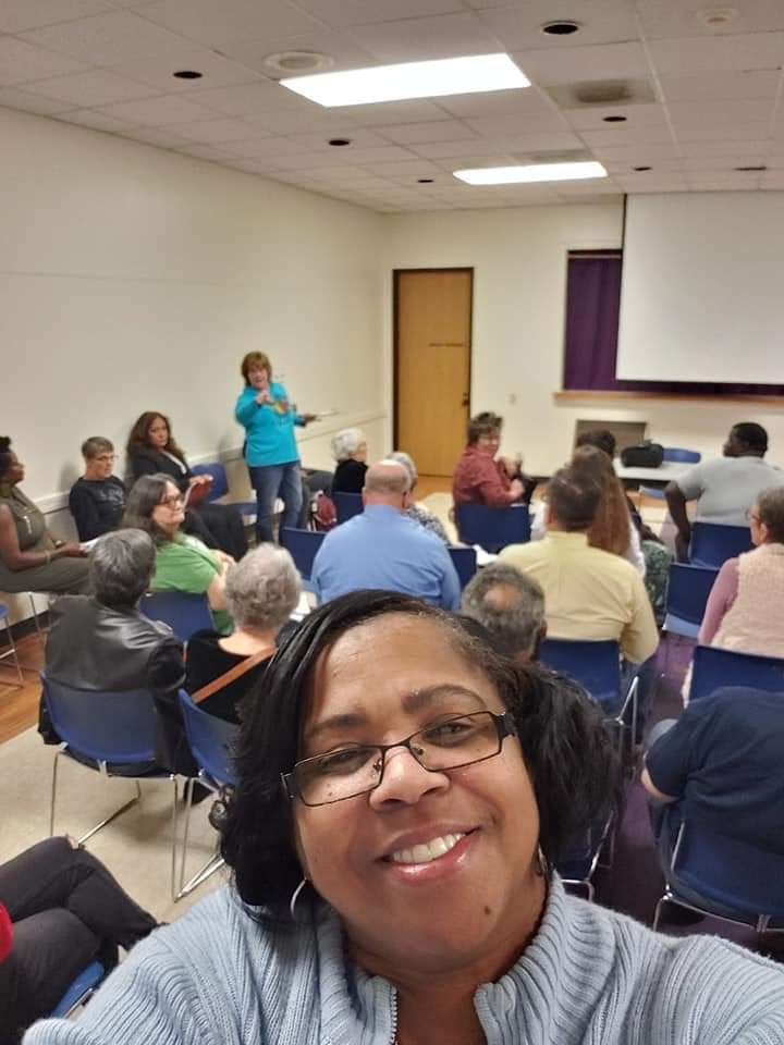 Dr. Pope Attending Brazoria County Democrats Executive Committee Meeting