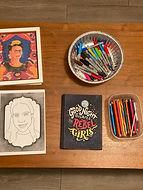 Kahlo-Inspired Self-Portrait