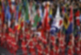 OPENING CEREMONY PART 1: Torch Relay and Athletes March