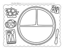 Healthy Placemat