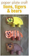Lions, Tigers, and Bears crafts