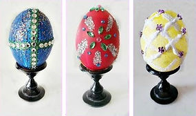 Bedazzled Faberge Eggs