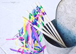 GYMNASTICS: Ribbon Wands