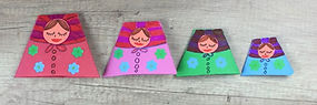 Paper Matryoshka Dolls