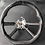 Thumbnail: 2007-2010 Jeep Wrangler JK/JKU Black Carbon Fiber Steering Wheel