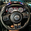 Thumbnail: 2011-2018 Jeep Wrangler JK/JKU Black Carbon Fiber Steering Wheel with LEDs