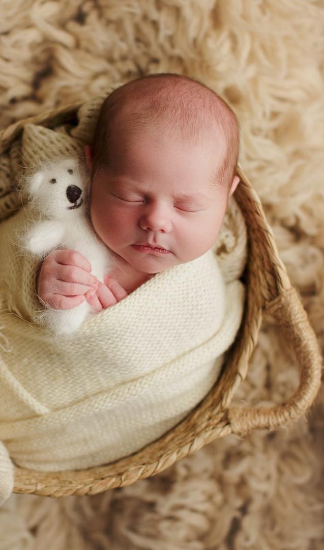 Newborn baby photography spring tx