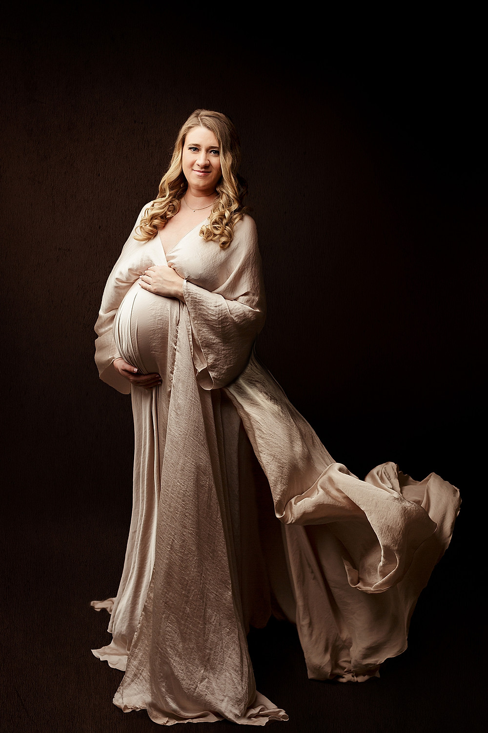 Studio Maternity Photography Session in Houston, TX
