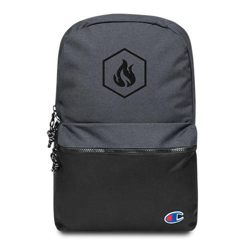 Firestorm Freerunning Hexagon Logo Embroidered Champion Backpack