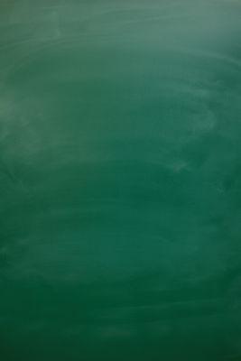Blank green chalkboard, blackboard textu