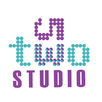 The purple and blue 53tw logo on it's side with Studio written below it.
