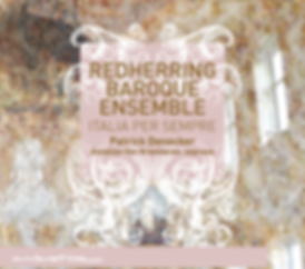 RedHerring Baroque Ensemble - Italia per Sempre