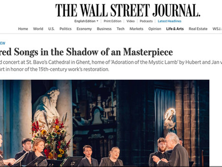 The Wall street journal writes