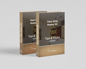 website ebook cover - your first home sg