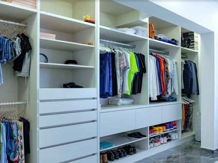 4 Tips  and Tricks For Walk-in Wardrobes