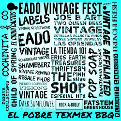 THIS SUNDAY!!! _eadovintagefest 4009 POLK ST HTX 12-8PM!! come out and celebrate with our amazing ar
