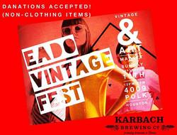 Tomorrow!! our monthly #vintagefest DONT MISS IT!! _eadovintagefest 4009 POLK HTX 12-6 we will be ac