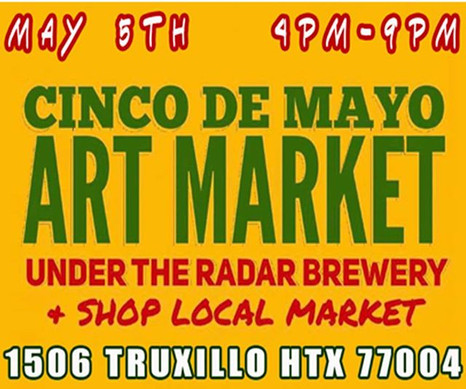 TODAY!! Make this your first stop!! Our 1ST SATURDAYS #MARKET WERE HAVING A #cincodemayo #FIESTA!! 4-9PM 1506 TRUXILLO HTX ..jpg