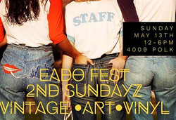 TOdaY!! Come out for _eadofest sponsored by _karbachbrewing & _labelsvintagestreetwear!! 4009 Polk H