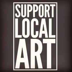 #supportlocalart #supportthehustle #shoplocal #eatlocal #drinklocal #shoplocalmarket ✌🏼❤️♻️🎨🎵🤘🏼