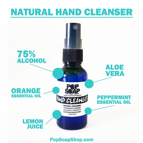 NATURAL HAND CLEANSER