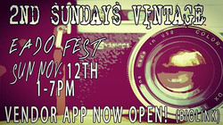 NOW TAKING APPS FOR NOV 12th! app in biolink looking for art and traditional vintage vendors! Vintag