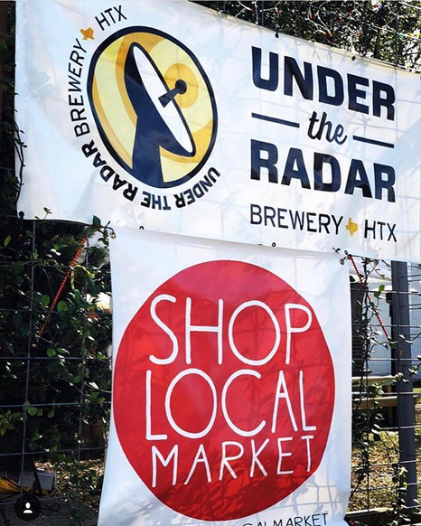 #Repost _undertheradarbrewery_・・・_Come check out our Drink Local Art Market in the beer garden! Join us for a Drink N' Shop with Houston's f