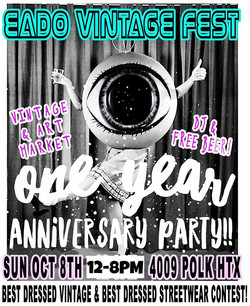 MARK YOUR CALENDARS!!! SUN OCT 8TH _eadovintagefest will be celebrating our 1YEAR ANNIVERSARY!! and