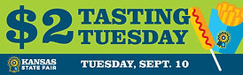 Digital Billboard_$2 Tasting Tuesday cop