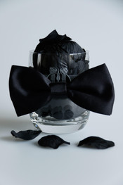 Glass in a Bow Tie