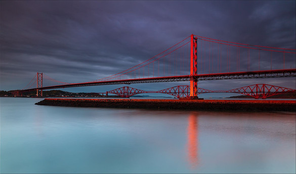 Sunset on that bridge