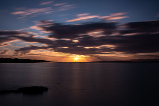 Blackness Sunset