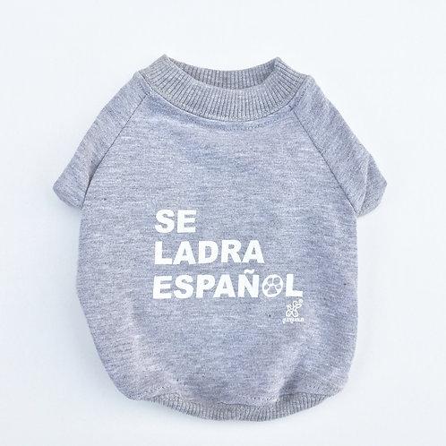 Camiseta Se ladra español