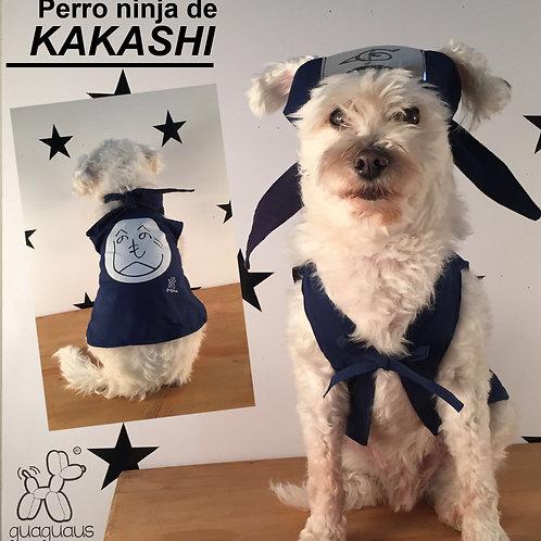 Disfraz Ninja guerrero de Kakashi