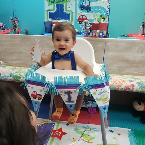 First Birthday for Luke