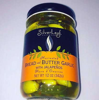 SilverLeaf Jalapeno Bread & Butter Garlic