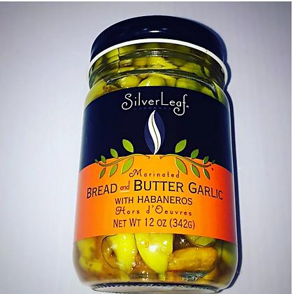 SilverLeaf Habanero Bread & Butter Garlic