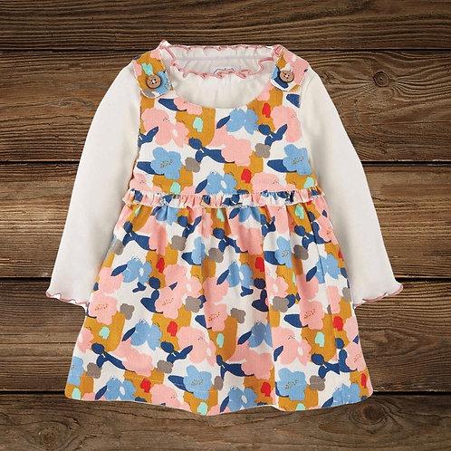 Floral Baby Dress Set