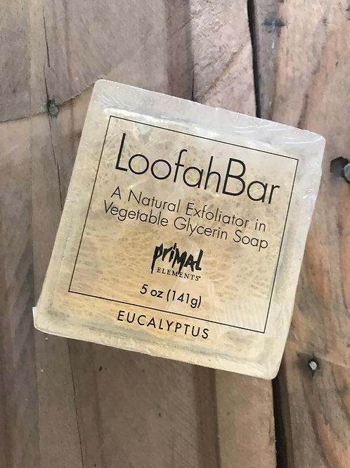 Loofah Bar Soap 5.0 oz. - EUCALYPTUS