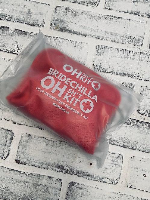 Wedding Day emergency kit for Brides- Bridechilla 'Oh Sh*t Kit'