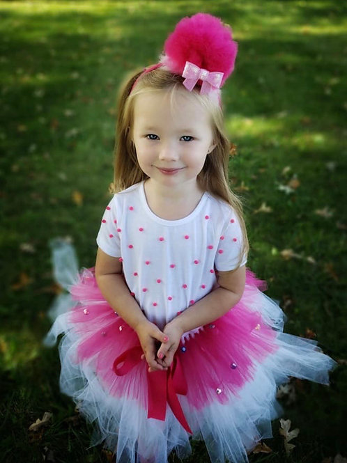 Cupcake princess dress up costume set