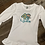Thumbnail: Custom name and age embroidered appliqué shirt
