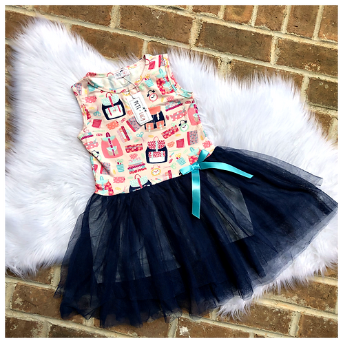 Back To School Twirl Tutu Dress by Pete & Lucy