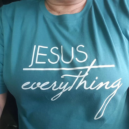 Jesus Over Everything Shirt