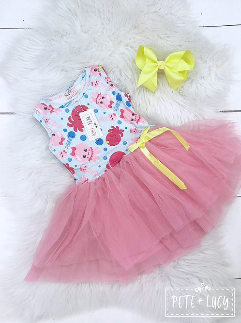 Girly Octopus Twirl Tutu Dress by Pete & Lucy