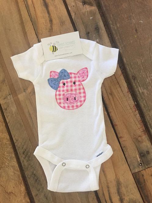 Piggy with Bow Shirt